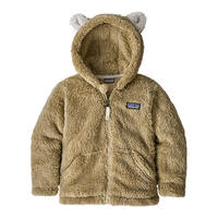 Patagonia Furry Friends Baby Hoody Zip Forge Grey All Sizes