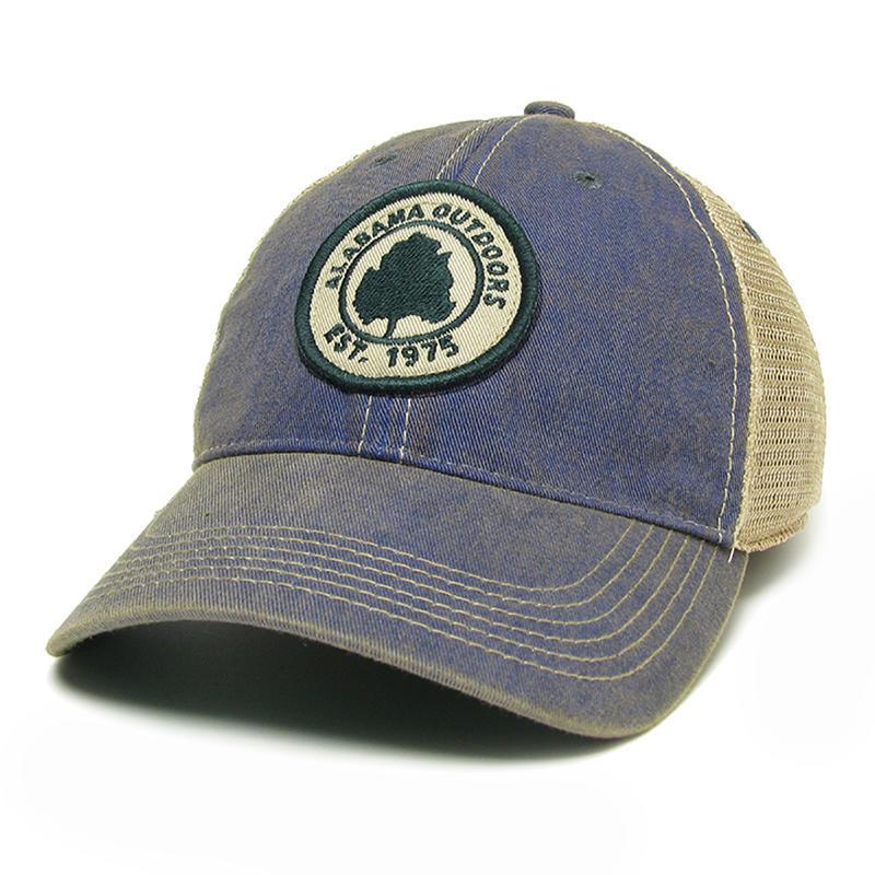 Alabama Outdoors Logo Trucker Hat - Alabama Outdoors eca857bbf82b