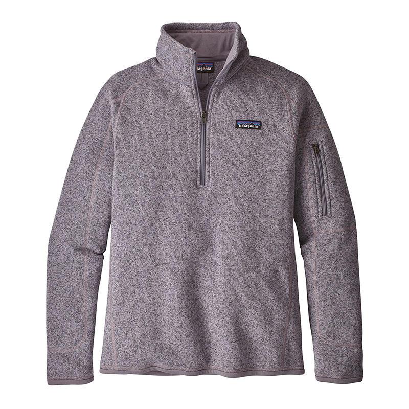 Patagonia Womens Better Sweater Quarter Zip Fleece Pullover