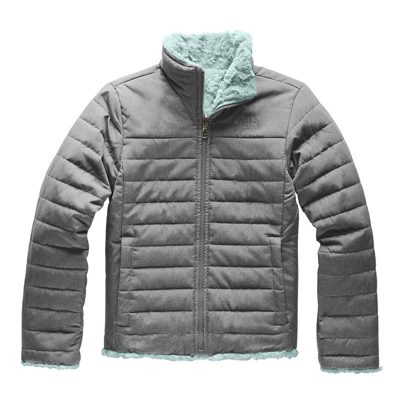 7238f8c41 The North Face Girls' Mossbud Swirl Reversible Jacket