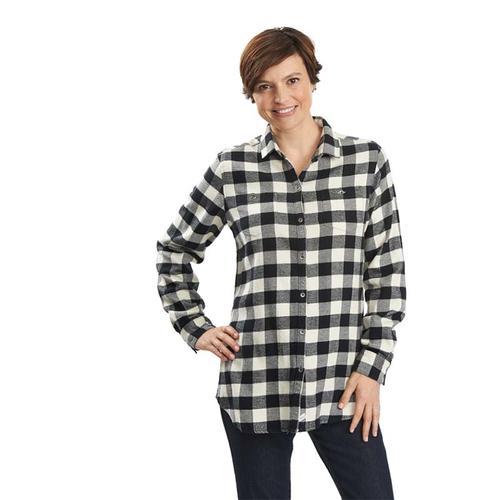 Woolrich Women s Buffalo Check Boyfriend Shirt - Water and Oak ... 42cc8ab30e57