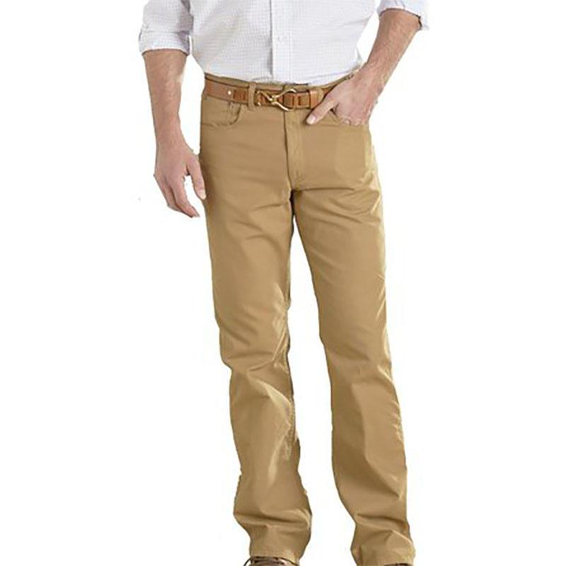 f05d9a7d1259 Coastal Cotton Men s Five Pocket Canvas Pants - Alabama Outdoors