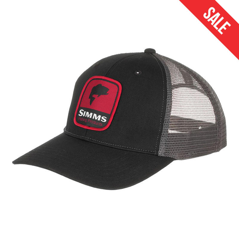 9fb16f3f4 Simms Men's Patch Trucker Hat - Alabama Outdoors