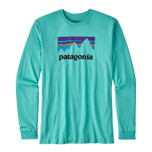 Patagonia Men's Shop Sticker Cotton Long-Sleeve T-Shirt - Alabama ...