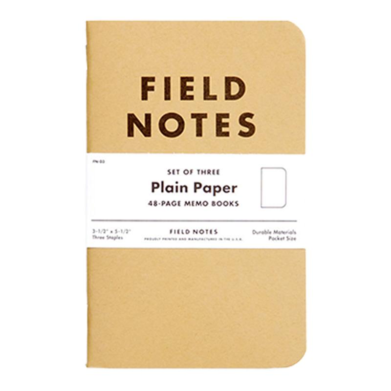 Field Notes Original Plain Memo Book Pack  Alabama Outdoors