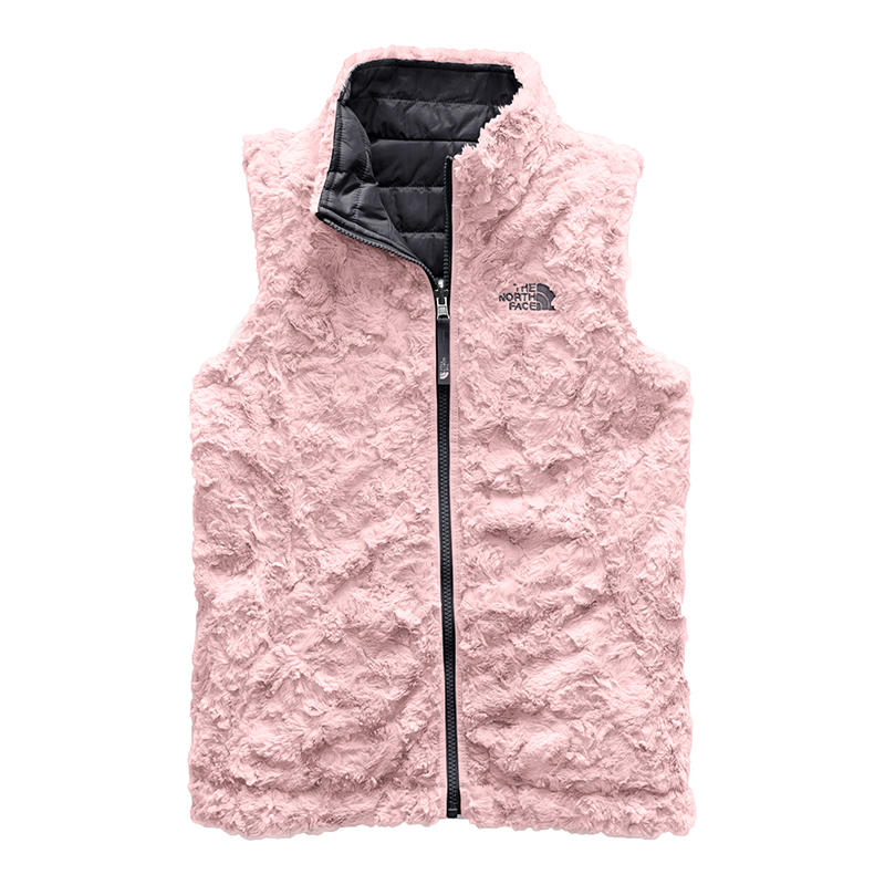 8b9728c52 The North Face Girls' Reversible Mossbud Swirl Vest - Alabama Outdoors