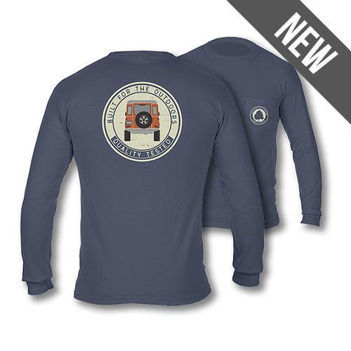c41cd3558 Alabama Outdoors Rover Coin Comfort Colors Long-Sleeve Pocket T-Shirt