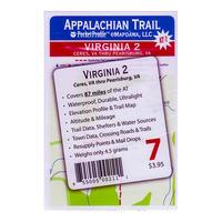 Antigravity Gear Appalachian Trail Pocket Profile Map Virginia ...