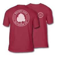 4d05b64b Water+Oak Record Logo Short-Sleeve Comfort Colors T-Shirt