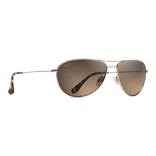 b48a9025eb Maui Jim Sea House Polarized Aviator Sunglasses - Water and Oak ...