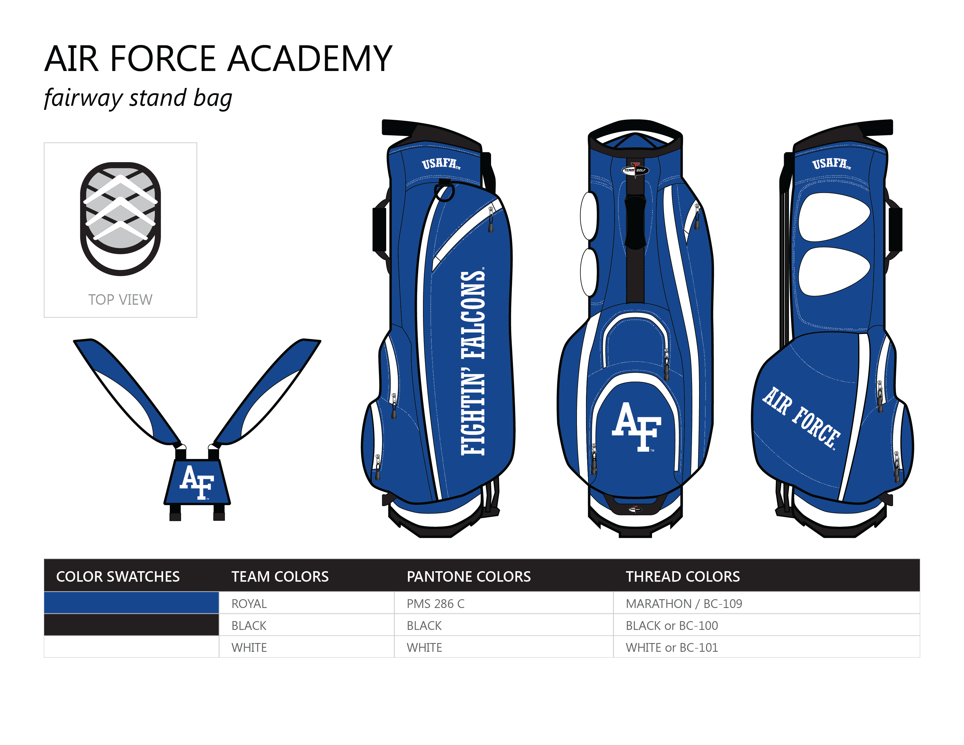 USAFA Fairway Golf Bag