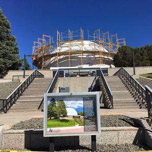 Planetarium under reconstruction