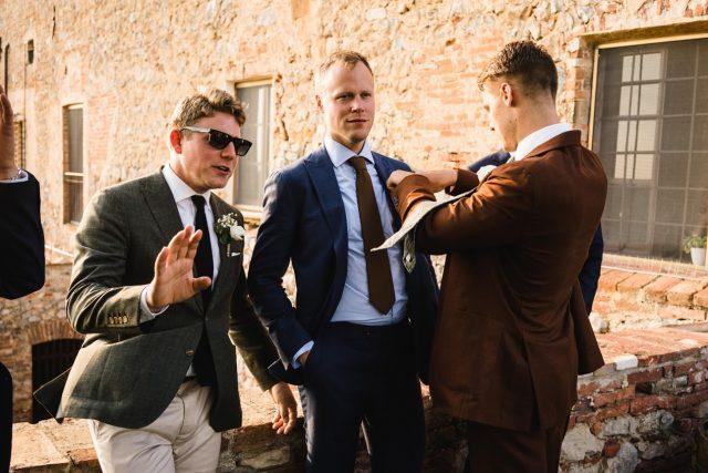 formal wedding photo