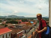 Jimi on top of the bell tower, with Granada in the background.: by 120thst, Views[126]