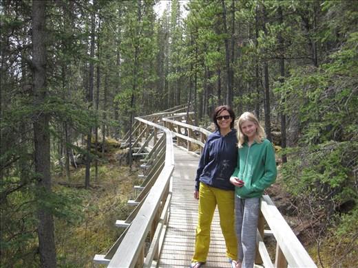 Rancheria Falls, beautiful boardwalks