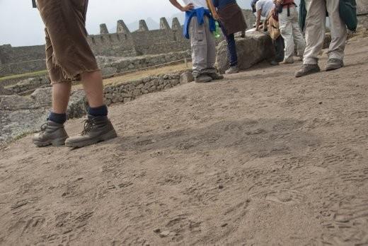 d'Feet of Machu Picchu
