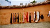 Work in the Medina: a wall of typicals moroccans dresses : by 360degrees, Views[118]