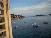 View from my louvre windows at the little Hvar pensione, $50 a night AUS, although very simple furnishings, good clean bathroom.I booked it when I saw the sign outside! Possible in May, but not in the next few months.: by 4ofus, Views[316]