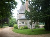 Les Belles Ruries ^ Front entrance, the gite was part of a long C18 chateaux in a lovely wooded estate: by 4ofus, Views[575]