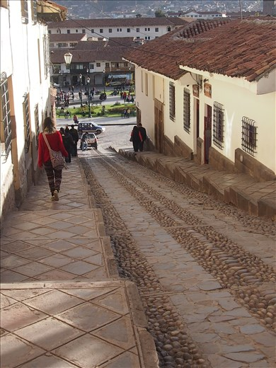 Cuesta del Almirante (steep street)