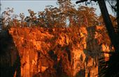 The gorge walls at first light.: by BigTripBlog, Views[444]