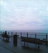 Into the sea we stare, and sometimes the sea stares back.   (Taken with smartphone): by aakma, Views[272]
