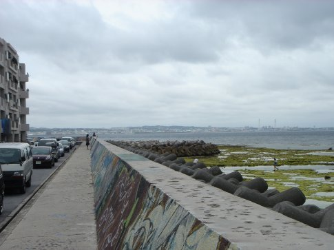 Another shot looking down the Sea Wall.