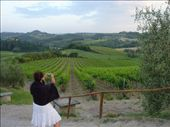 Mama finding the best shot of the vineyard.: by abcarlson, Views[449]