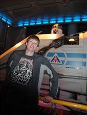 Brandon posing R2-D2 and a shuttle craft: by abcarlson, Views[297]