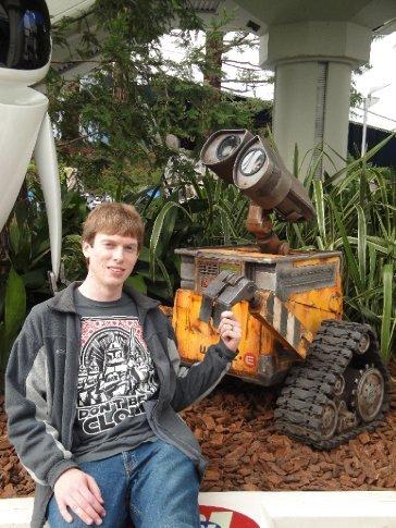Brandon meets Wall-E