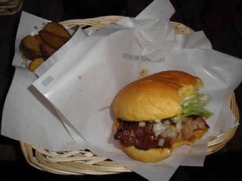 Brandon's Teriyaki Chicken Burger