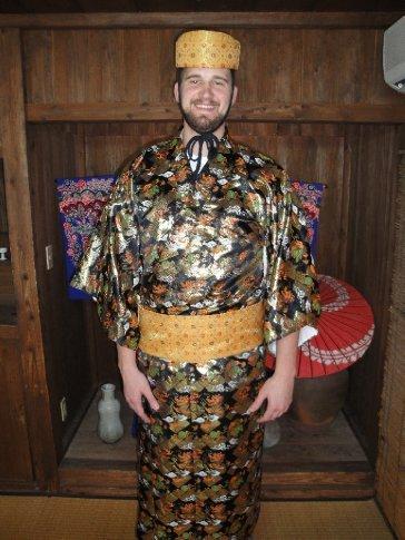 Dick in his Ryukyu garb.