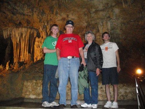 Cave visitors
