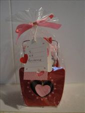 Sky Housing gave us these cute wooden baskets with chocolates inside for Valentine's Day!: by abcarlson, Views[289]