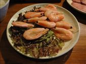 A nice plate of shrimp to cook on the barbie.  And yes, in case you were wondering, those are eyes.: by abcarlson, Views[424]