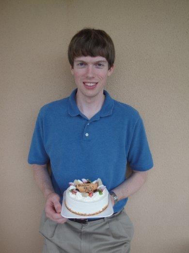 Happy Th Birthday Brandon Cake