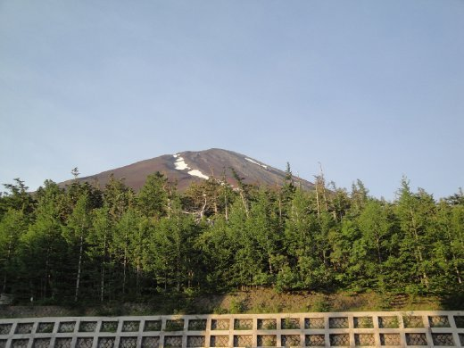 Fuji-san, also known as Mt. Fuji or Fujiyama, is the highest mountain in Japan at 3776 meters (12,388 ft) tall.