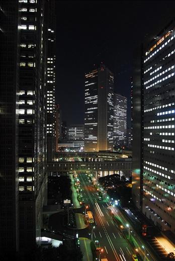 Night view from Washington Hotel Shinjuku