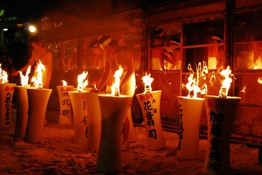 Naked Man Festival, shinto festival for Goodluck and Good Harvest