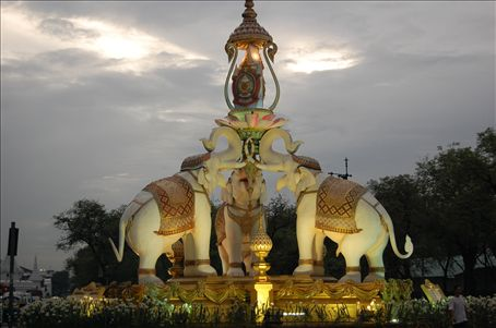 Round about of Royal Elephants