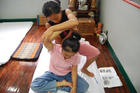 My massage course