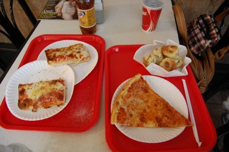 A n J's Pizza -- Briel's Friday lunch hangout!