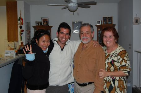 Visit with Yossi - Briel's fathers cousin.