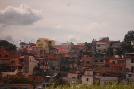 Favela - the typical shanty towns