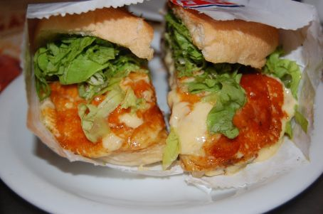 Cheese Salada!  The best Cheese burger anywhere in the world.
