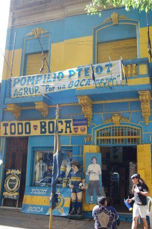 The fan store outside