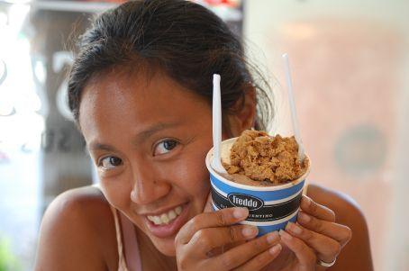 Freddo icecream - yummy Dulce de leche