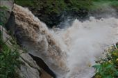 Man made waterfall to releive pressure of river: by abelaine, Views[536]