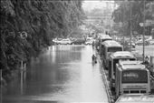 Traffic jam that are common in Jakarta become worse during the flood.: by adamkasali, Views[156]