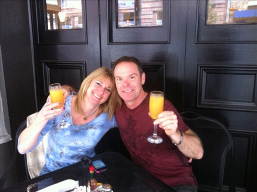 Mimosa Cheers - New Orleans
